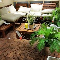 Barnizado de muebles de exterior con Lasur