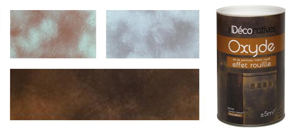 Decoraci n efecto oxido - Mejor pintura para hierro exterior ...