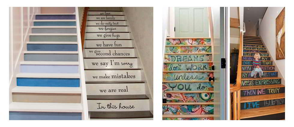 Decoracion de escaleras - Ideas para escaleras de interior ...