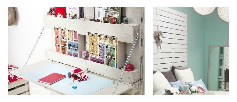 Decorar con palets de madera tu hogar la casa de pinturas - Como forrar una silla de escritorio ...