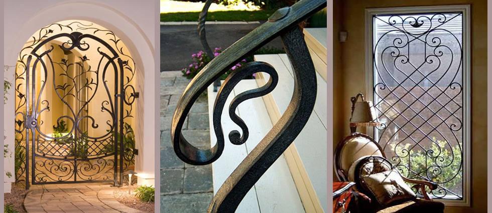 Ahora toca pintar el hierro y la forja la casa de pinturas for Puertas pintadas originales