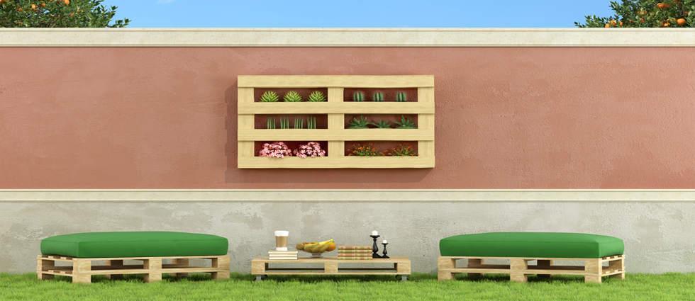 Decorar con palets la casa de pinturas tu tienda - Que hacer con un palet ...