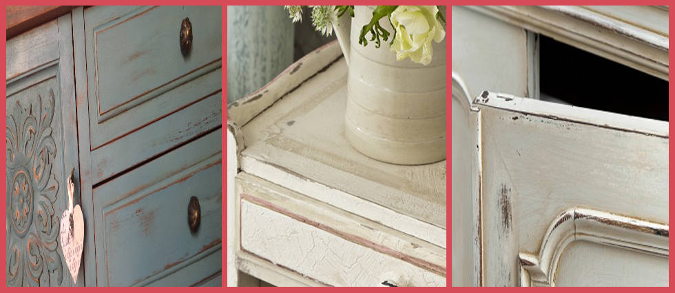 Pintura efecto empolvado para muebles.|La Casa de Pinturas