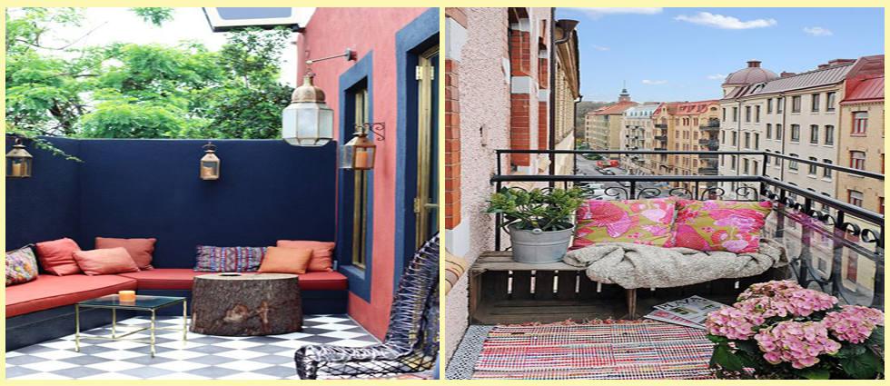 Decorar terrazas peque a tendencias la casa de pinturas for Terraza dela casa