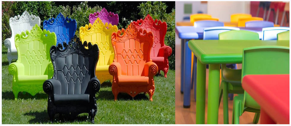 Ideas para pintar mobiliario de pl stico la casa de pinturas for Casa y jardin tienda
