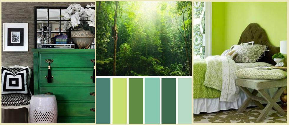 Decorar en verde oscuro es posible la casa de pinturas for La casa de las pinturas