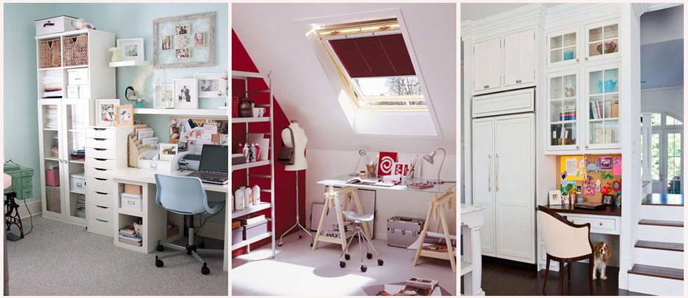 Decorar oficina en casa archivos la casa de pinturas - Decorar despacho en casa ...