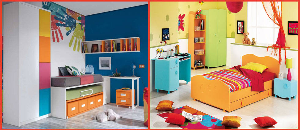 Habitaciones infantiles multicolores la casa de pinturas - Pintar habitaciones infantiles ...