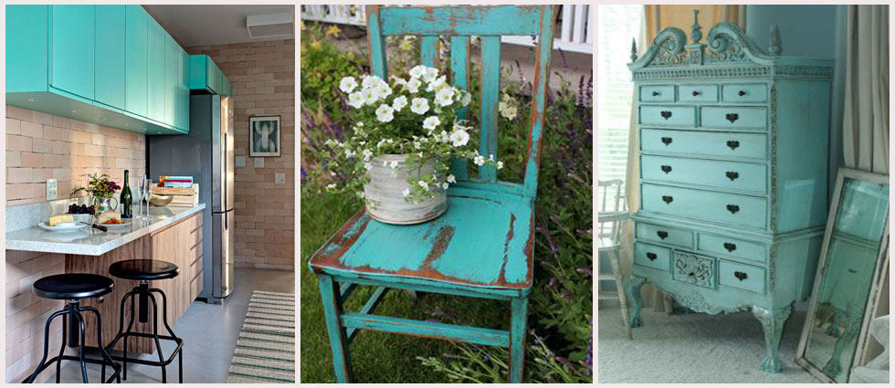 Azul turquesa para decorar archivos la casa de pinturas for Cortinas azul turquesa