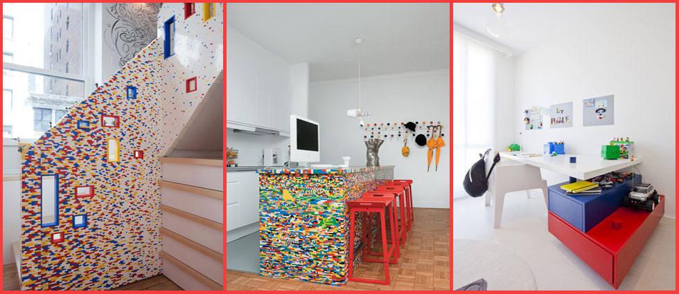 decoraci n con piezas lego la casa de pinturas