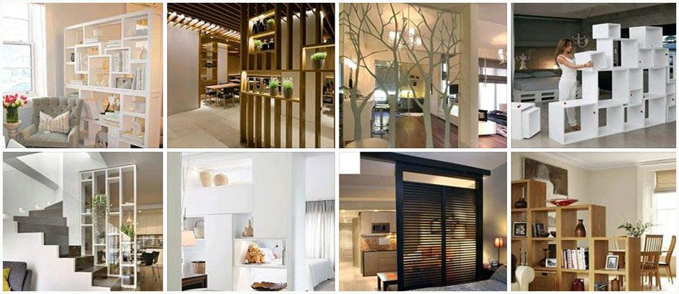 Separar ambientes con estilo la casa de pinturas for Separar ambientes