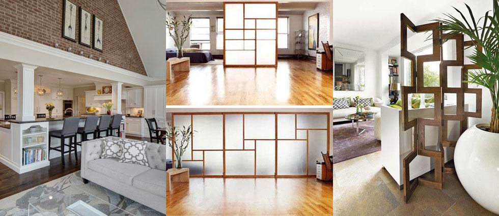 Paneles japoneses para separar ambientes cmo dividir - Paneles para separar espacios ...
