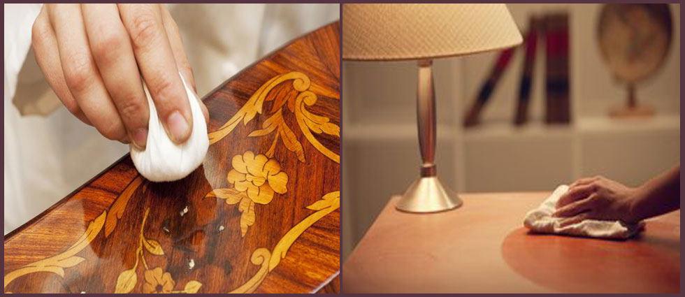 Cera para proteger muebles de madera la casa de pinturas - Como limpiar muebles de madera antiguos ...