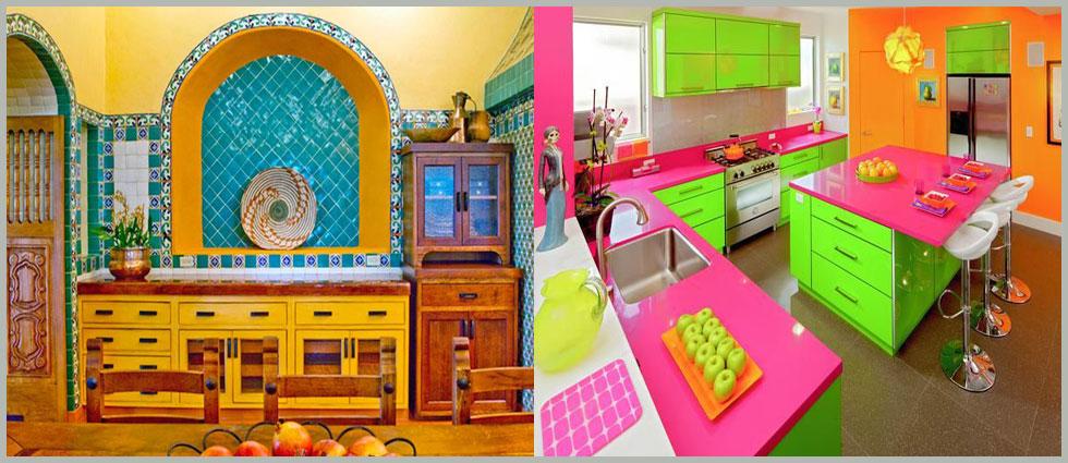 Tendencia en colores para cocinas la casa de pinturas for La casa de las pinturas
