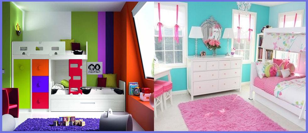 mejores colores para habitaciones juveniles