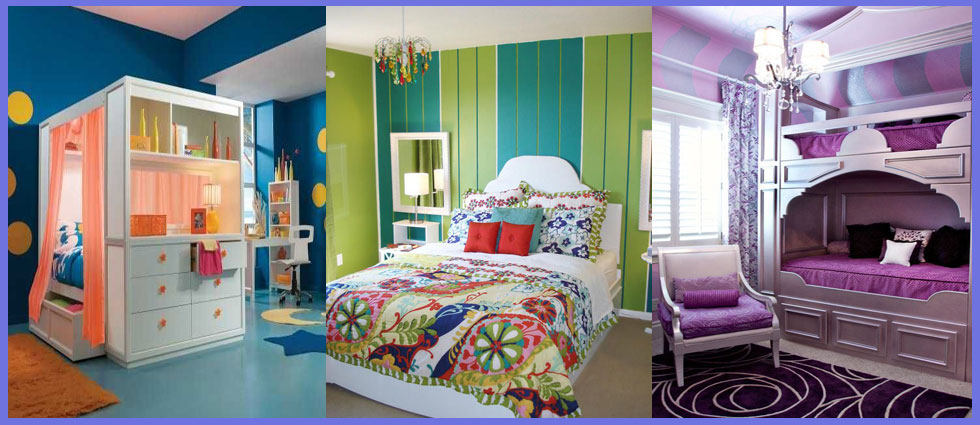 Colores para habitaciones juveniles la casa de pinturas - Pinturas para cuartos ...