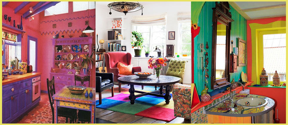 decoracion hippie chic departamento