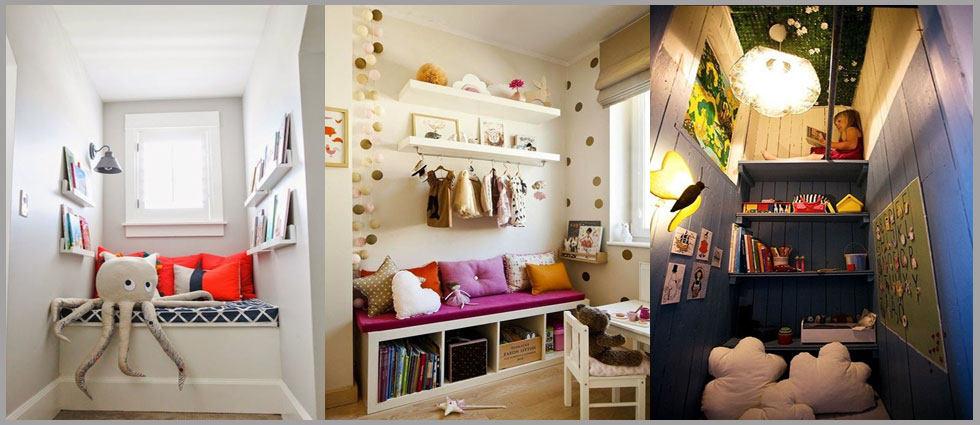 Crear y decorar un rinc n de lectura la casa de pinturas - Decorar un rincon del salon ...