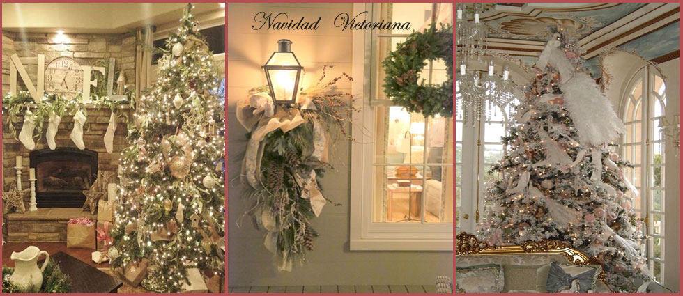 decoracion navideña victoriana