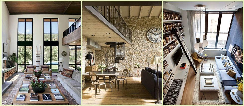 Espacios con doble altura la casa de pinturas tu - Como decorar un loft ...