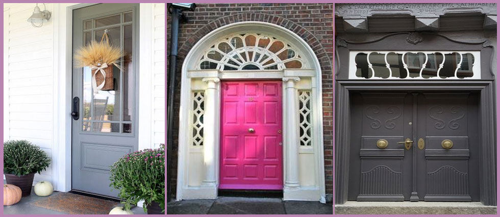 puerta de entrada de casas