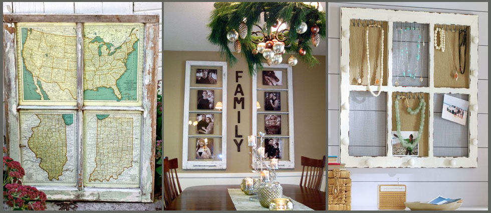 Ventanas antiguas en decoraci n la casa de pinturas tu for Decorar puertas viejas de interior