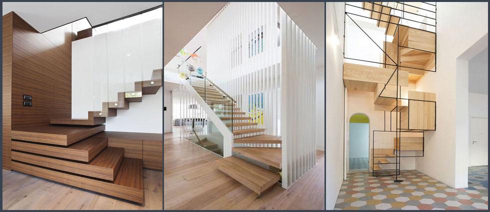 escaleras flotantes sencillez y originalidad en su hogar