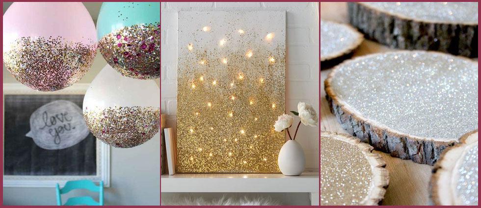Purpurina polvo de hada la casa de pinturas tu tienda for Como decorar una pared con pintura
