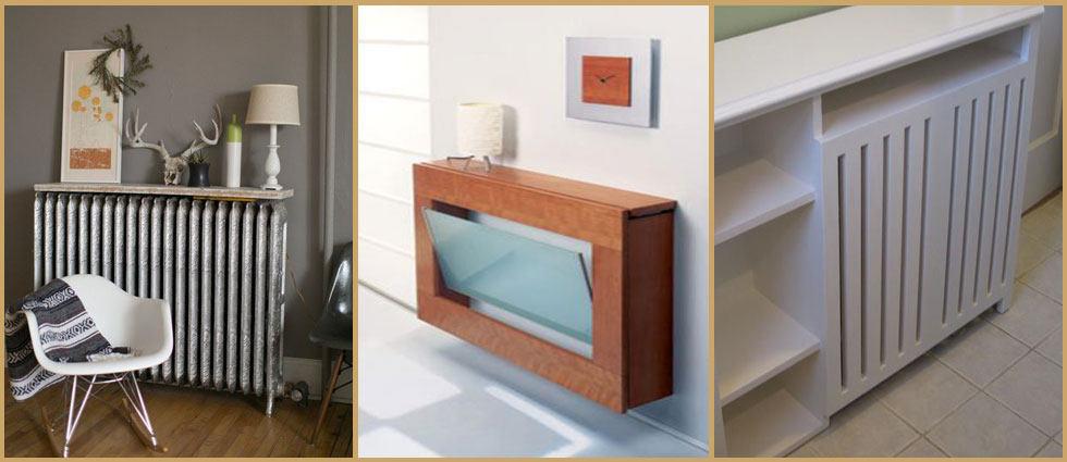 Decoracion diy - Muebles para cubrir radiadores ...