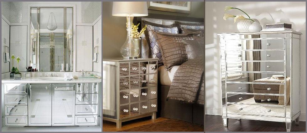 Muebles para ba o la plata for Muebles de espejo