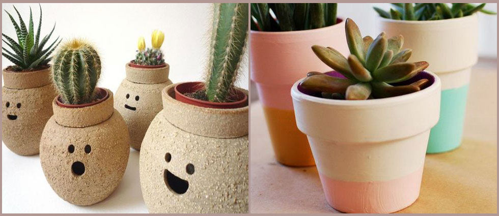 ideas para decorar con pasta efecto terracota