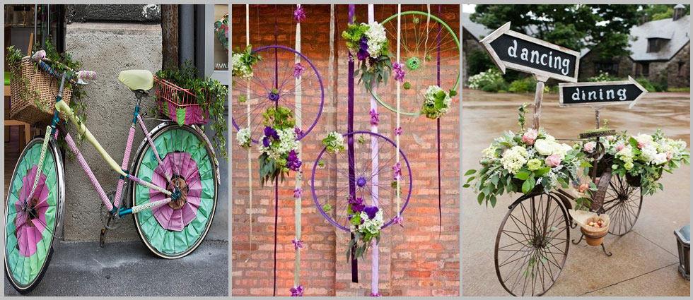 bicicletas decorativas para eventos