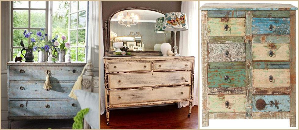 envejecer muebles con tecnica pintura chalky Look