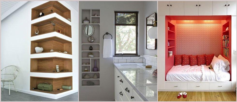 Nichos decorativos archivos la casa de pinturas tu for Decorativos de pared