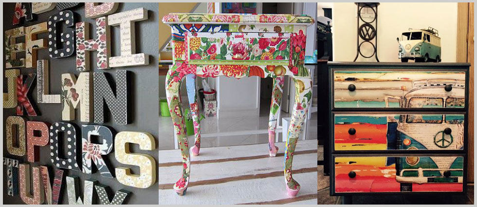 ideas decoupage