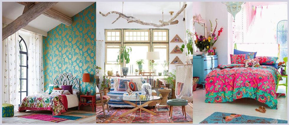 casas bohemias con estilo