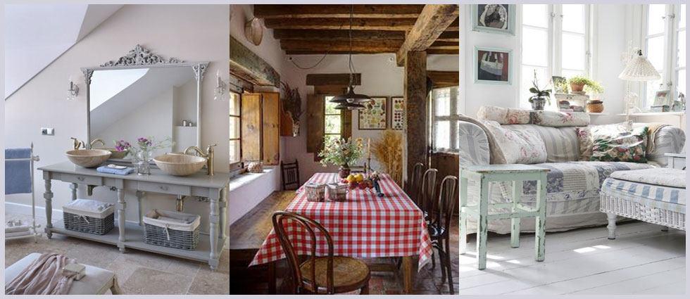 decoración provenzal rustica francesa