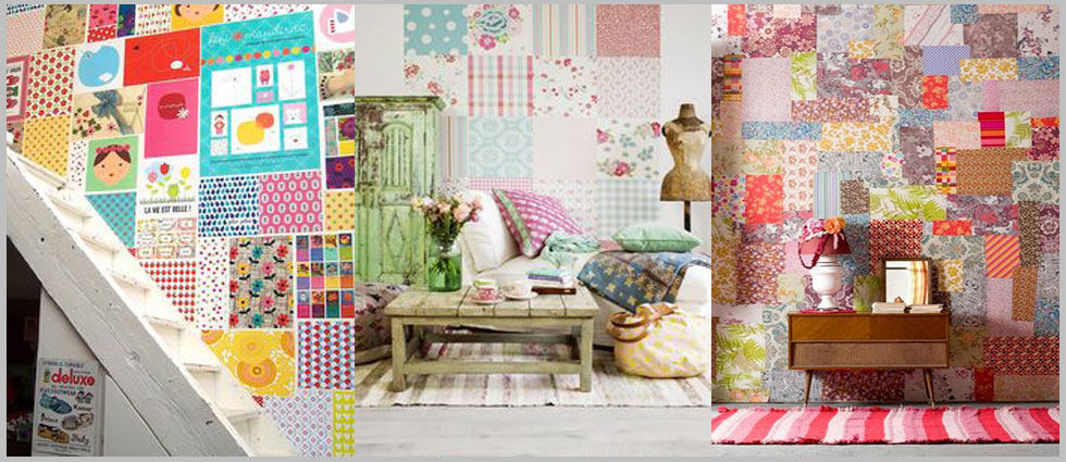 ideas para decorar con patchwork