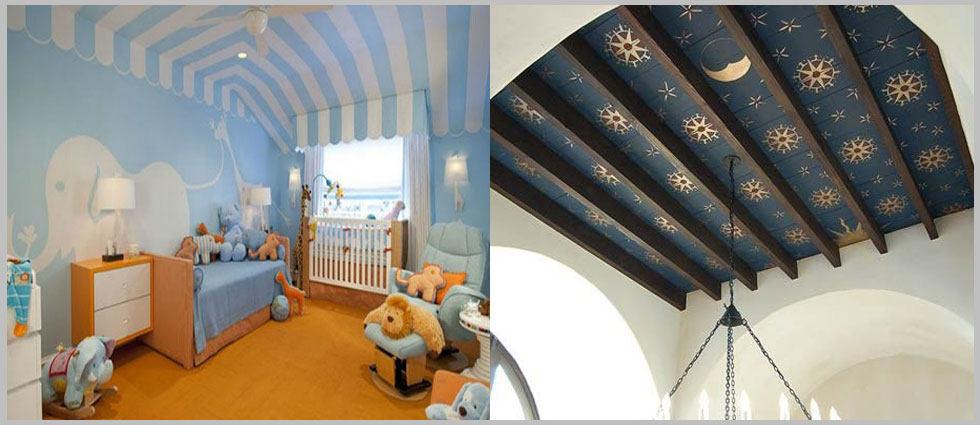 techos infantiles con imaginación