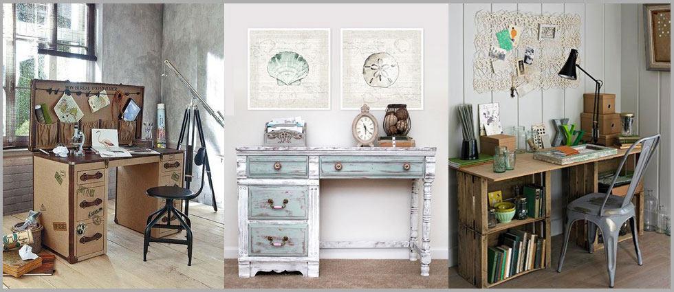 escritorio vintage para su hogar