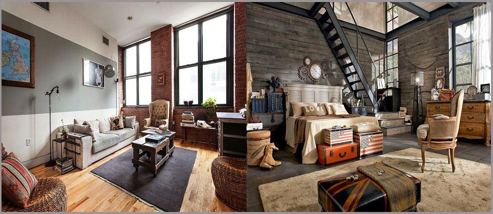 estilo neoyorquino en los hogares