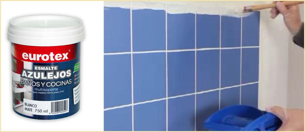 pinturas de azulejos con acabado mate