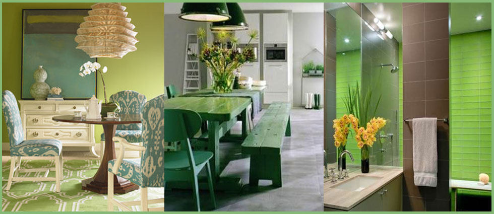 greenery color ideal en decoracion