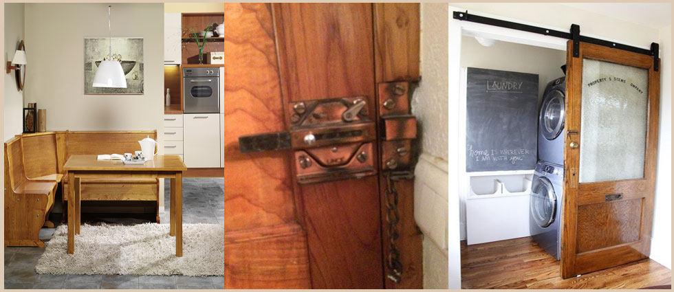 madera de castaño en el estilo escandinavo
