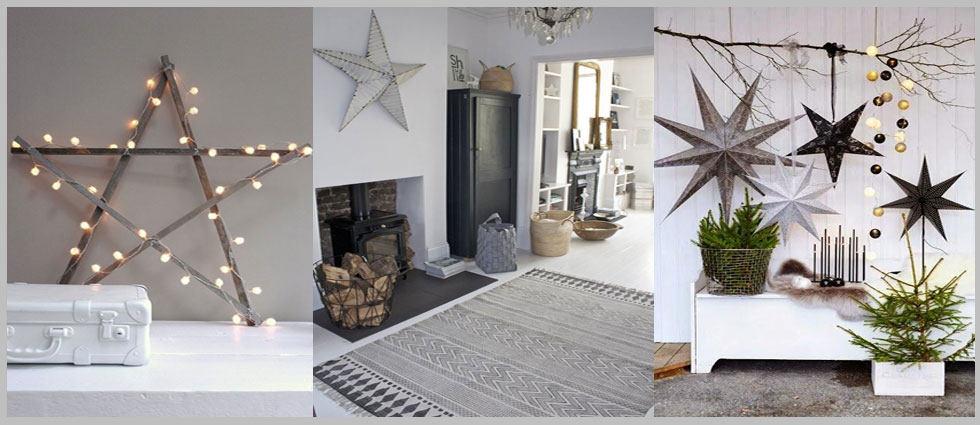 Plantillas Estrellas Para Decorar.Estrellas Para Decorar Un Hogar Nordico La Casa De Pinturas