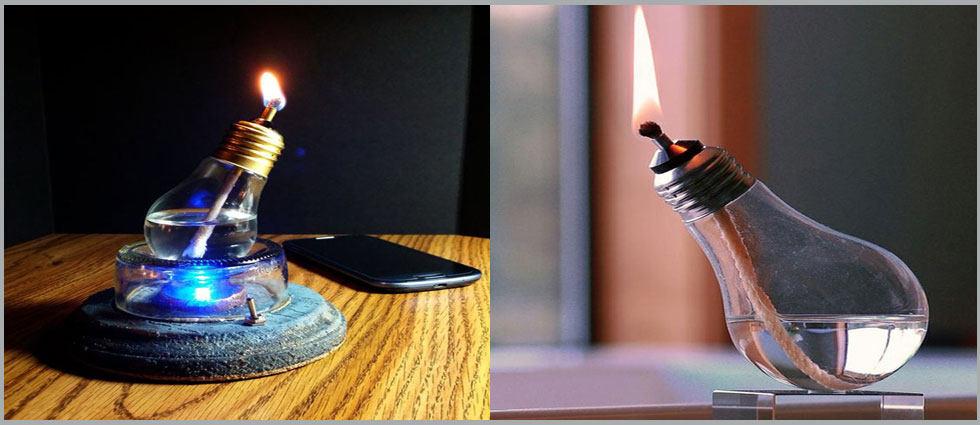 lámparas de aceite personalizadas