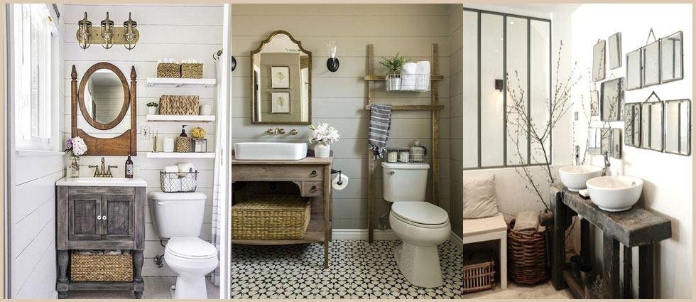Muebles de ba o estilo vintage la casa de pinturas - Muebles antiguos para banos ...