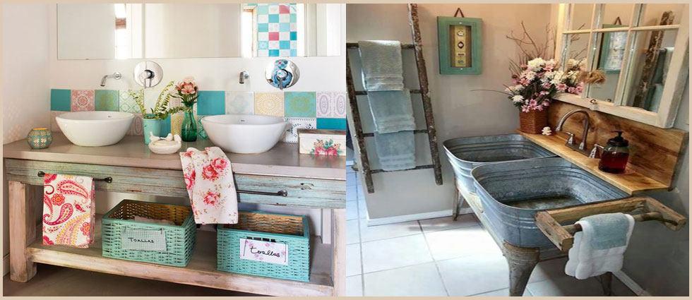 Muebles de ba o estilo vintage la casa de pinturas - Muebles de cocina estilo retro ...