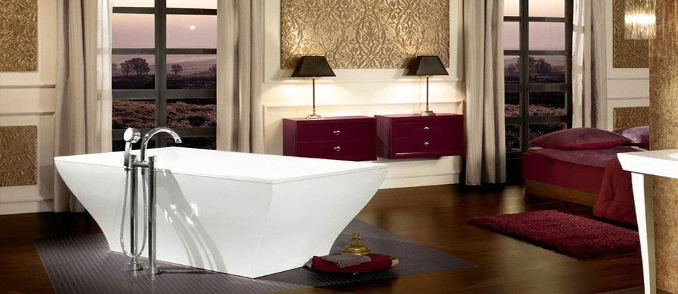 ideas para un baño integrado en el dormitorio
