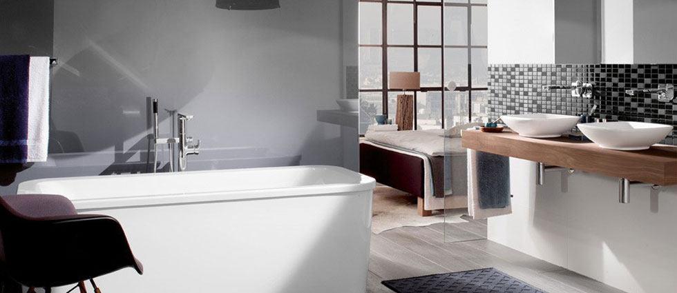 baño integrado en el dormitorio del hogar